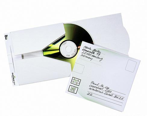 Конверт CD/DVD Mail