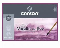 Бумага для акварели Canson Moulin du Roy 56 x 76 см, 300 г, м2, 10 листов